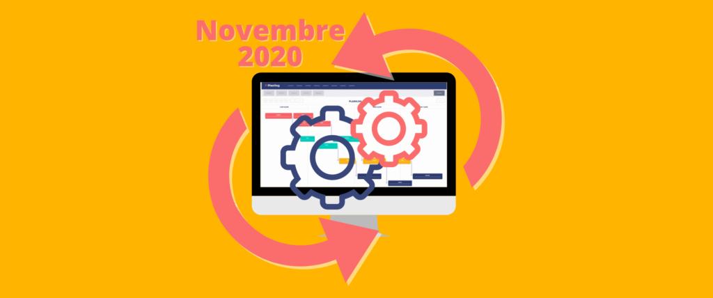 Amélioration Novembre 2021