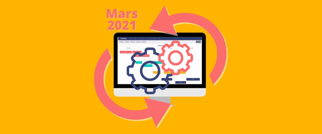 Ameliroation Mars 2021